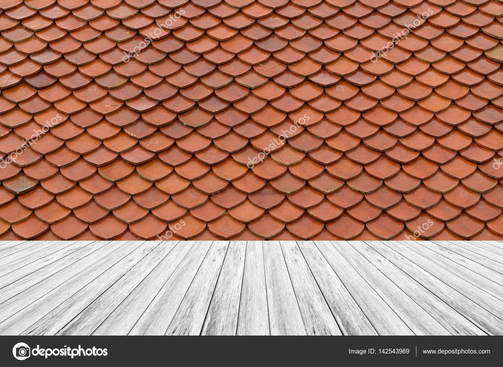 Terraza De Madera Y Azulejo De Azotea De Textura Fotos De