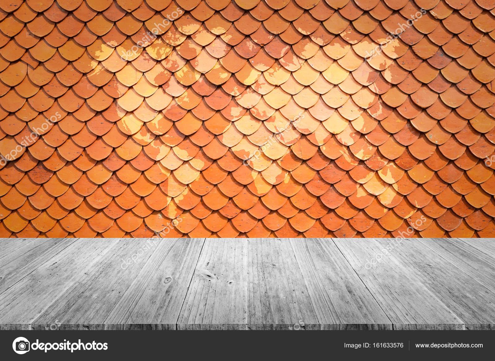 Textura De Techo De Teja Foto De Stock Pongmoji 161633576