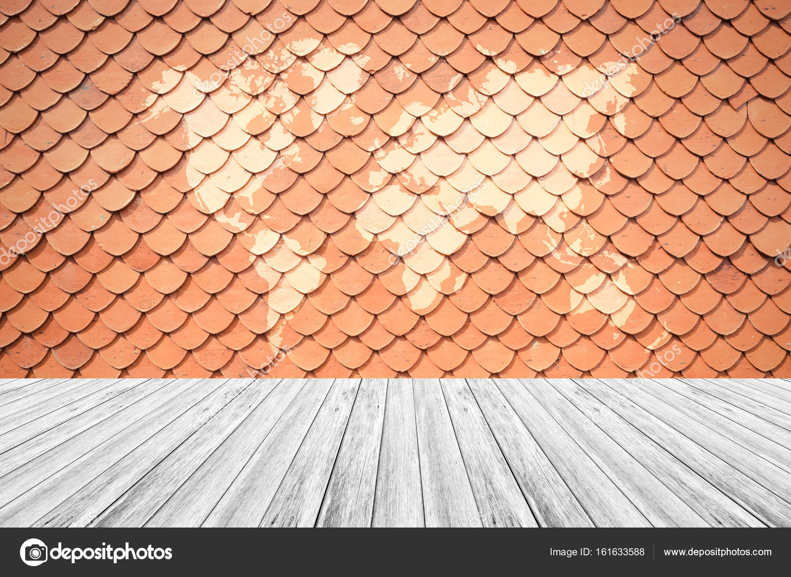 Textura De Techo De Teja Foto De Stock Pongmoji 161633588