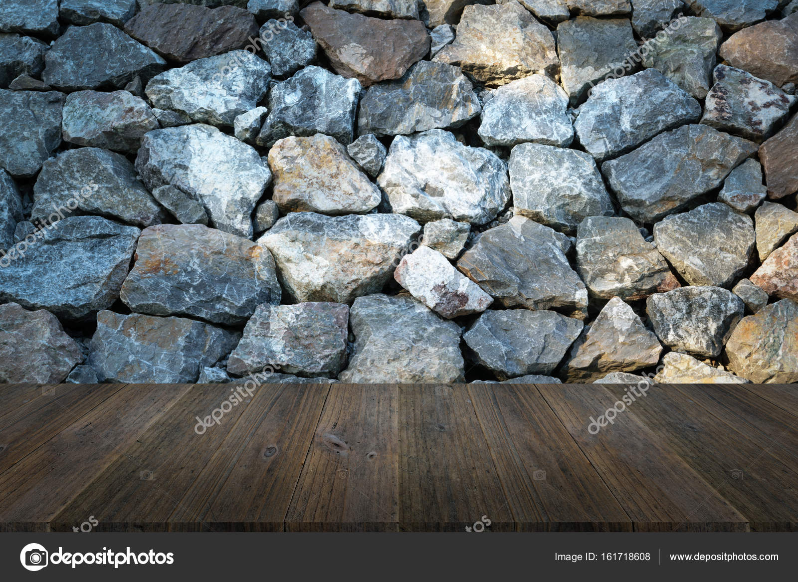 Stone wall texture with wood terrace with world map stock photo stone wall texture background surface natural color with wood terrace with world map photo by pongmoji gumiabroncs Gallery