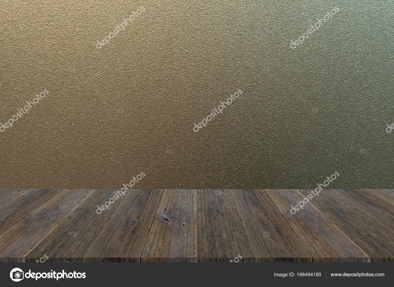 Helado De Textura De Vidrio Con Madera Terraza Foto De