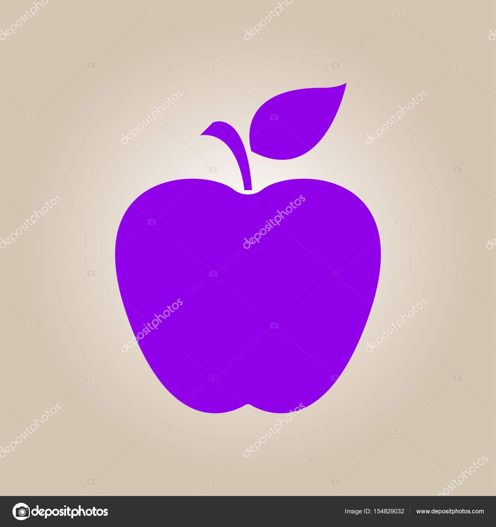 Leaf apple symbol stock vector arhimicrostok 154829032 apple icon healthy food concept naturopathy symbol vector by arhimicrostok buycottarizona