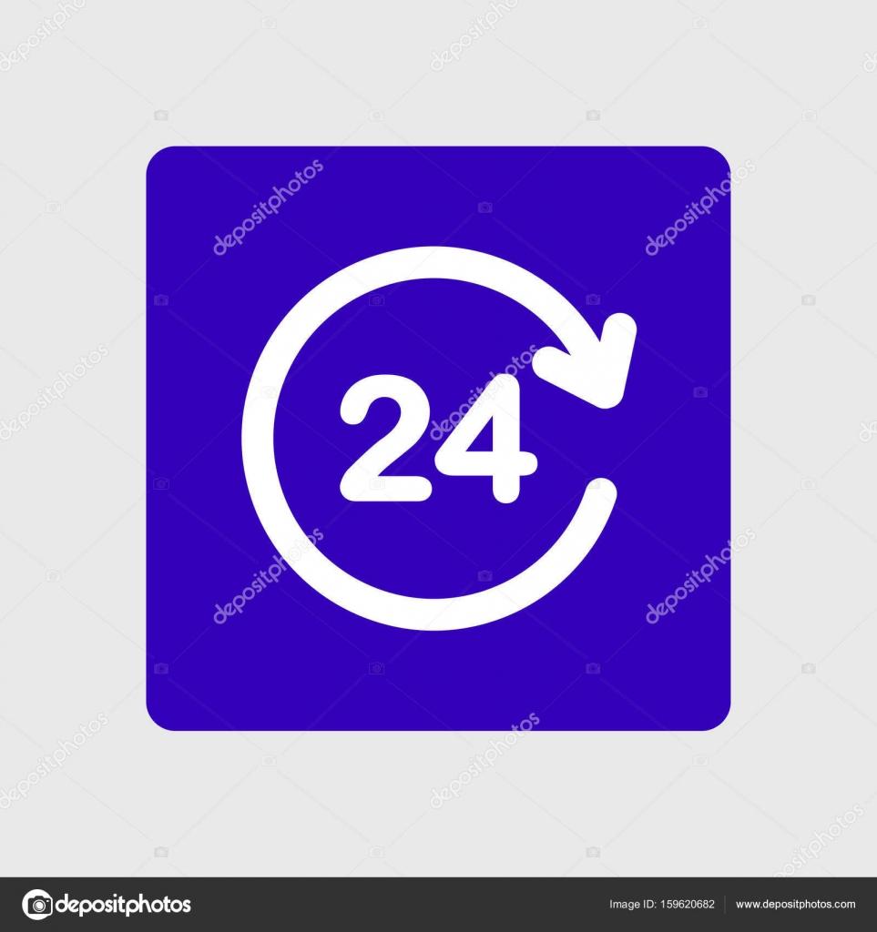 Heures d ouverture une ic ne de jour image vectorielle for Domon st eustache heure d ouverture