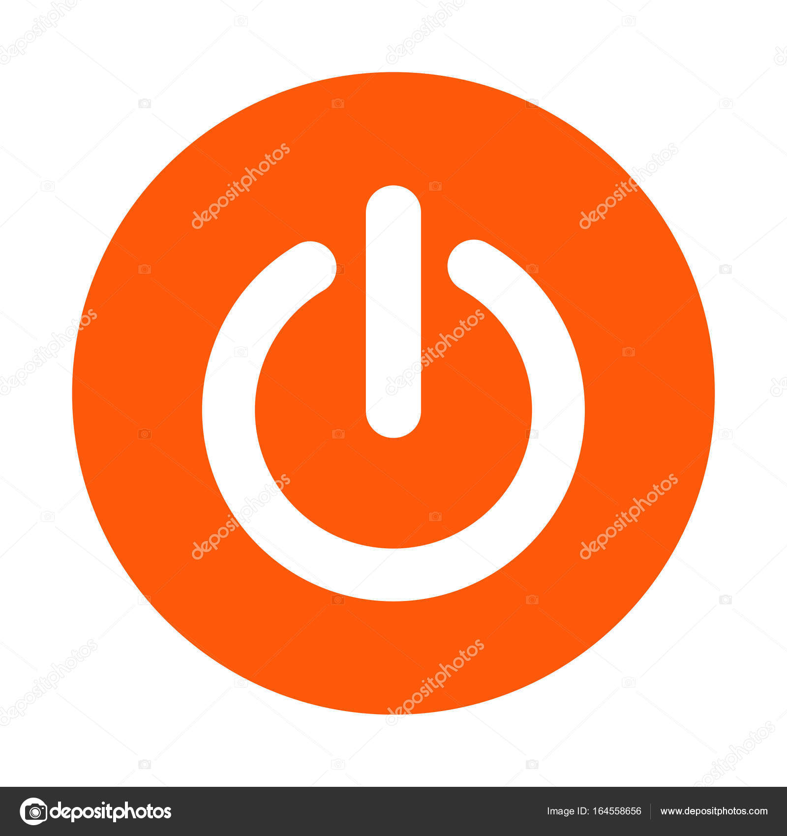 Power-Zeichen-symbol — Stockvektor © arhimicrostok #164558656