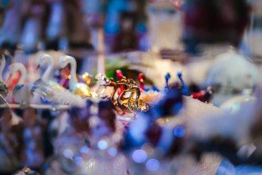 Geleneksel Noel Pazar ile el yapımı Hatıra Eşyası, Strazburg