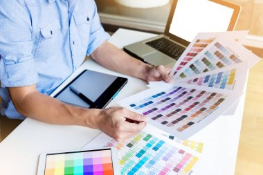 interior design or graphic designer renovation and technology