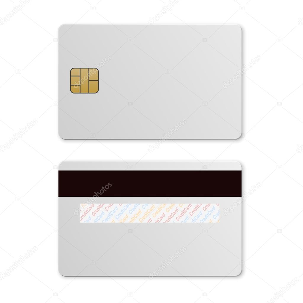 kreditkarte-vorlage — Stockvektor © Gomolach #127306904