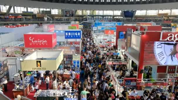 Belgrade / Serbia - October 26, 2019: 64th International Belgrade Book Fair, held October 20-27, 2019 in Belgrade, Serbia