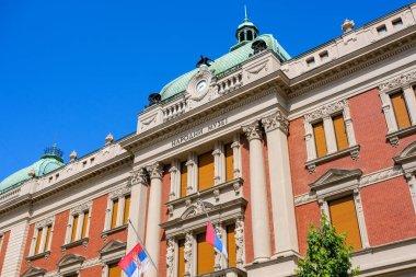 Belgrade / Serbia - May 16, 2020: National Museum of Serbia, the largest and oldest museum in Belgrade, Serbia