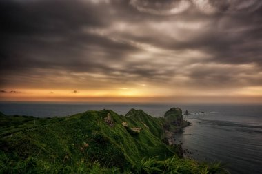 Kamui coast storm clouds