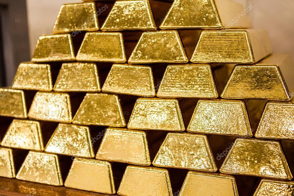 Gold Bullion Gold Bars  U2014 Stock Photo  U00a9 Julia Berezovska
