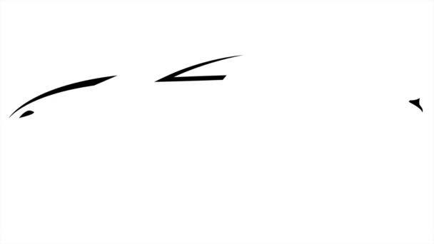 schwarzes Auto-Logo