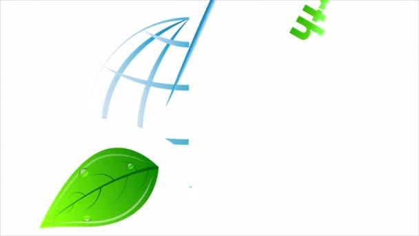logo april 22 earth day, art video illustration.