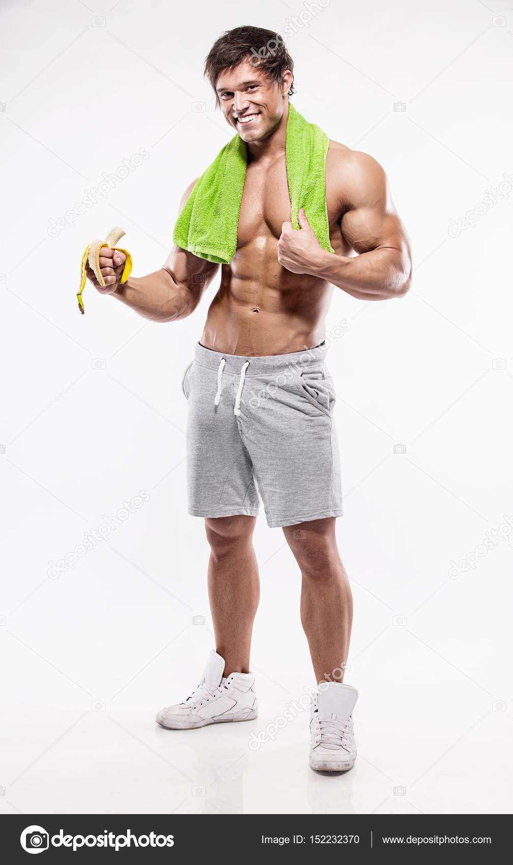 schlanker Körpertyp Mann