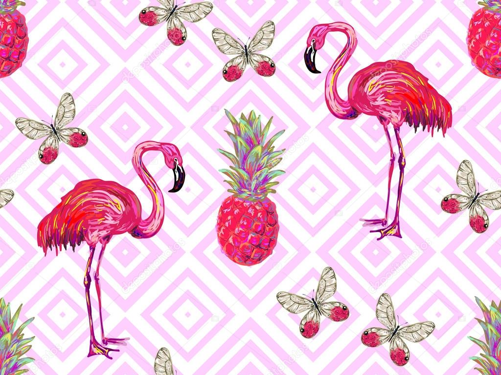 seamless jungle pattern