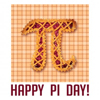 Happy Pi Day! Celebrate Pi Day. Mathematical constant. March 14th. 3.14. Ratio of a circles circumference to its diameter. Constant number Pi. Cherry pie