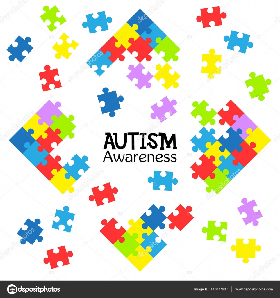 World autism awareness day colorful puzzles vector background world autism awareness day colorful puzzles vector background symbol of autism medical flat biocorpaavc
