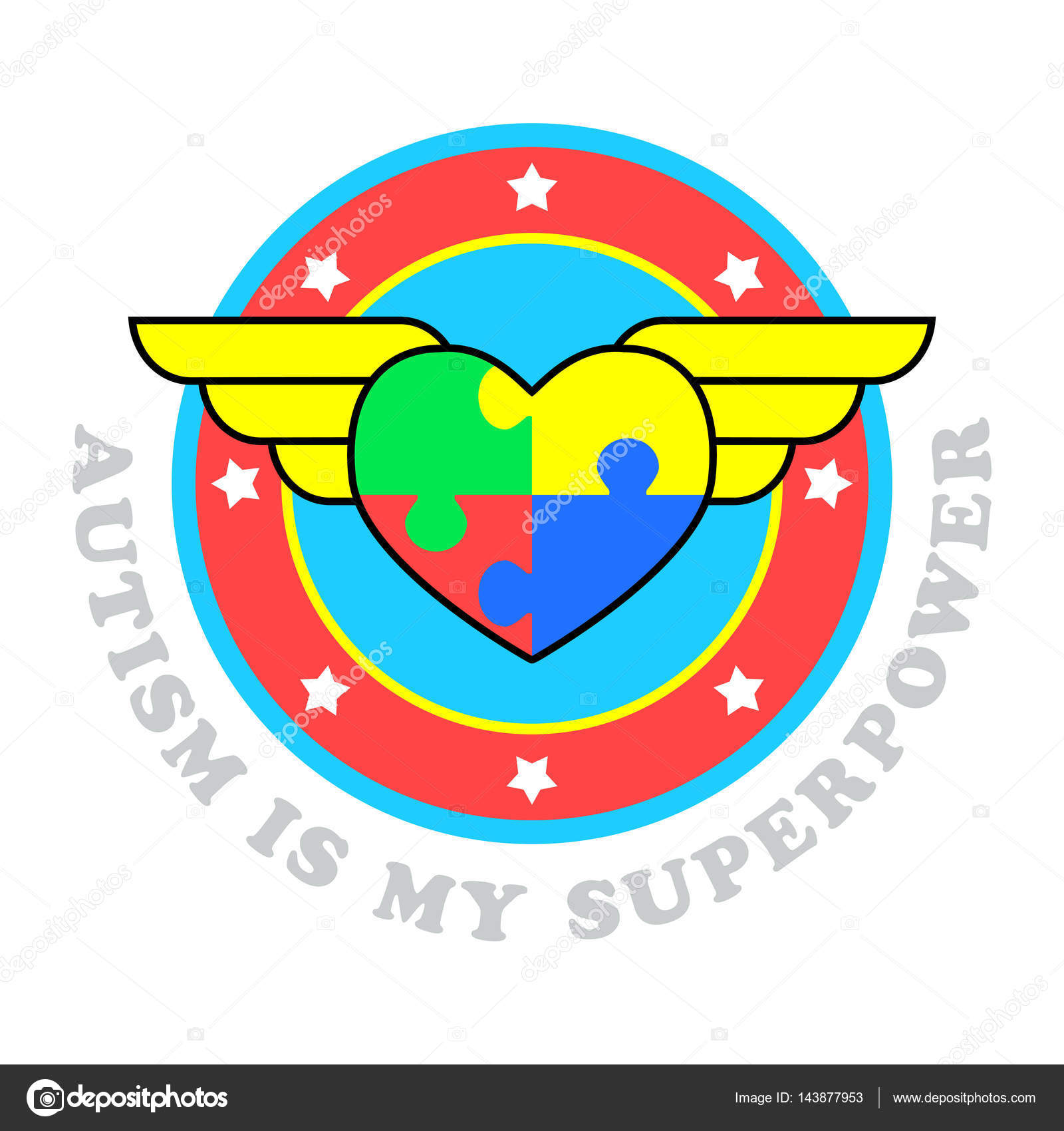 Autism is my superpower world autism awareness day symbol of autism is my superpower world autism awareness day symbol of autism medical flat biocorpaavc Gallery