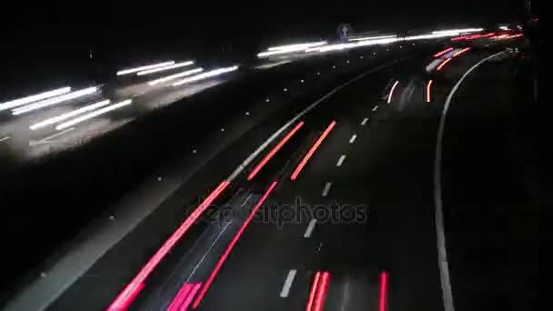 Dálniční provoz vozů v noční době zanikla 4k