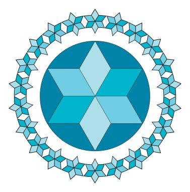 blue Jewish star