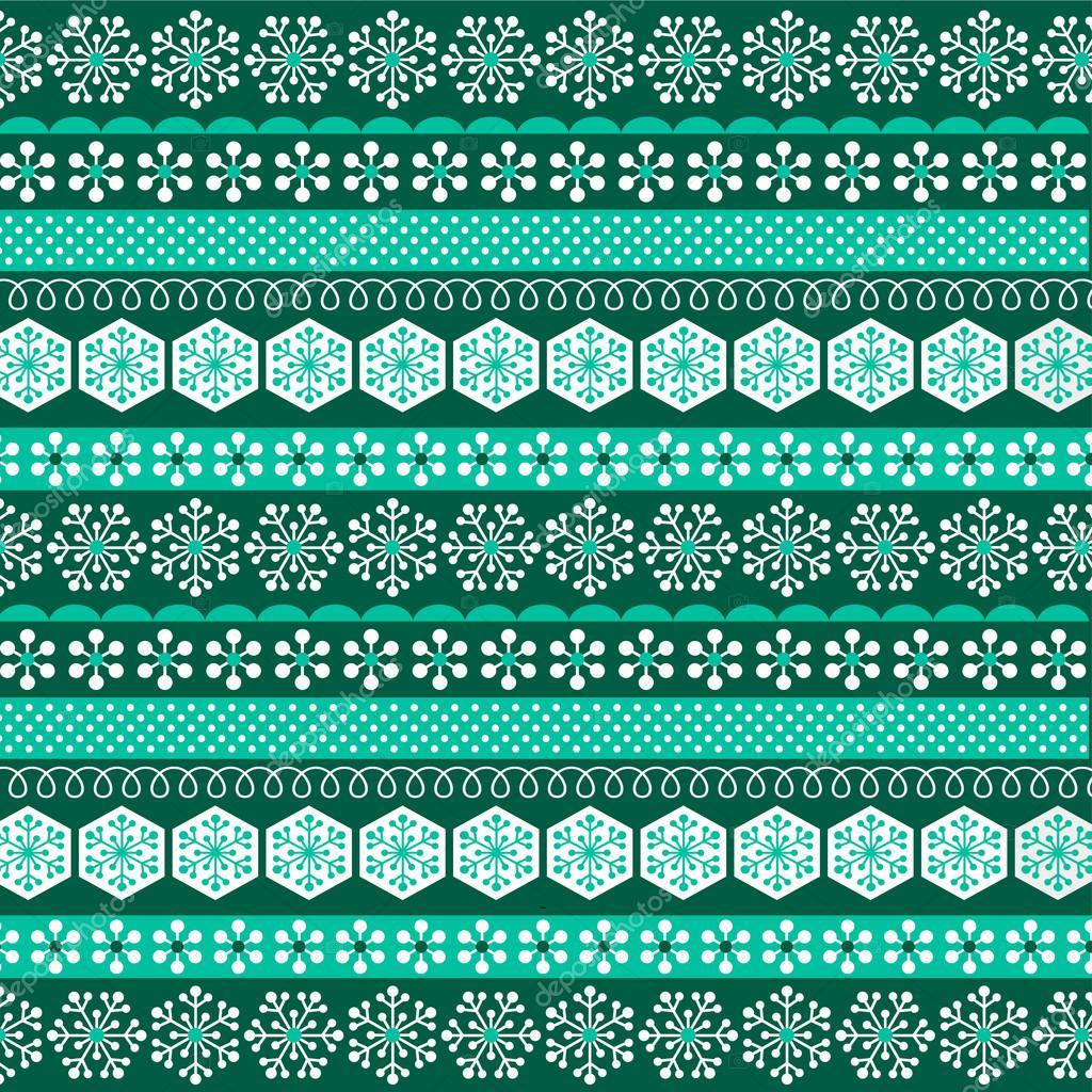 dark green christmas stripe