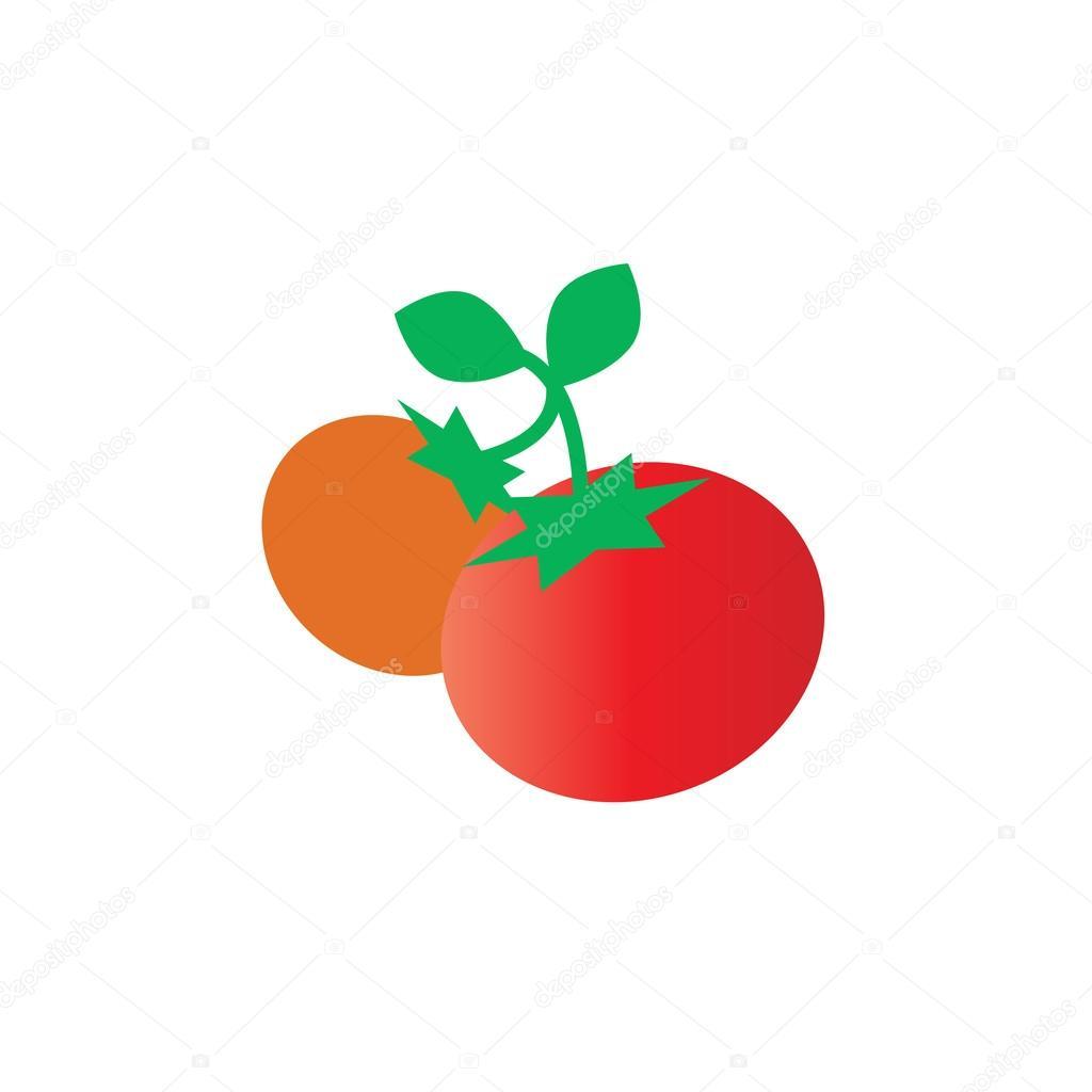 トマトの新鮮な食材のイラスト ストックベクター Scrapster 128279430