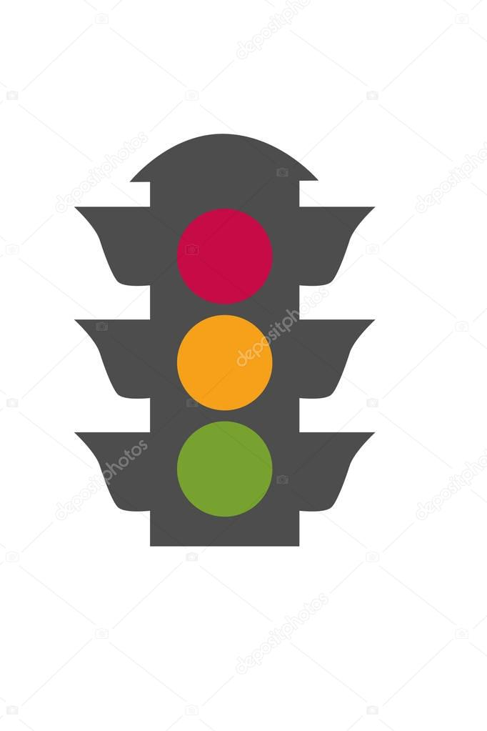 Stop Light Icon Stock Vector Scrapster 129402198