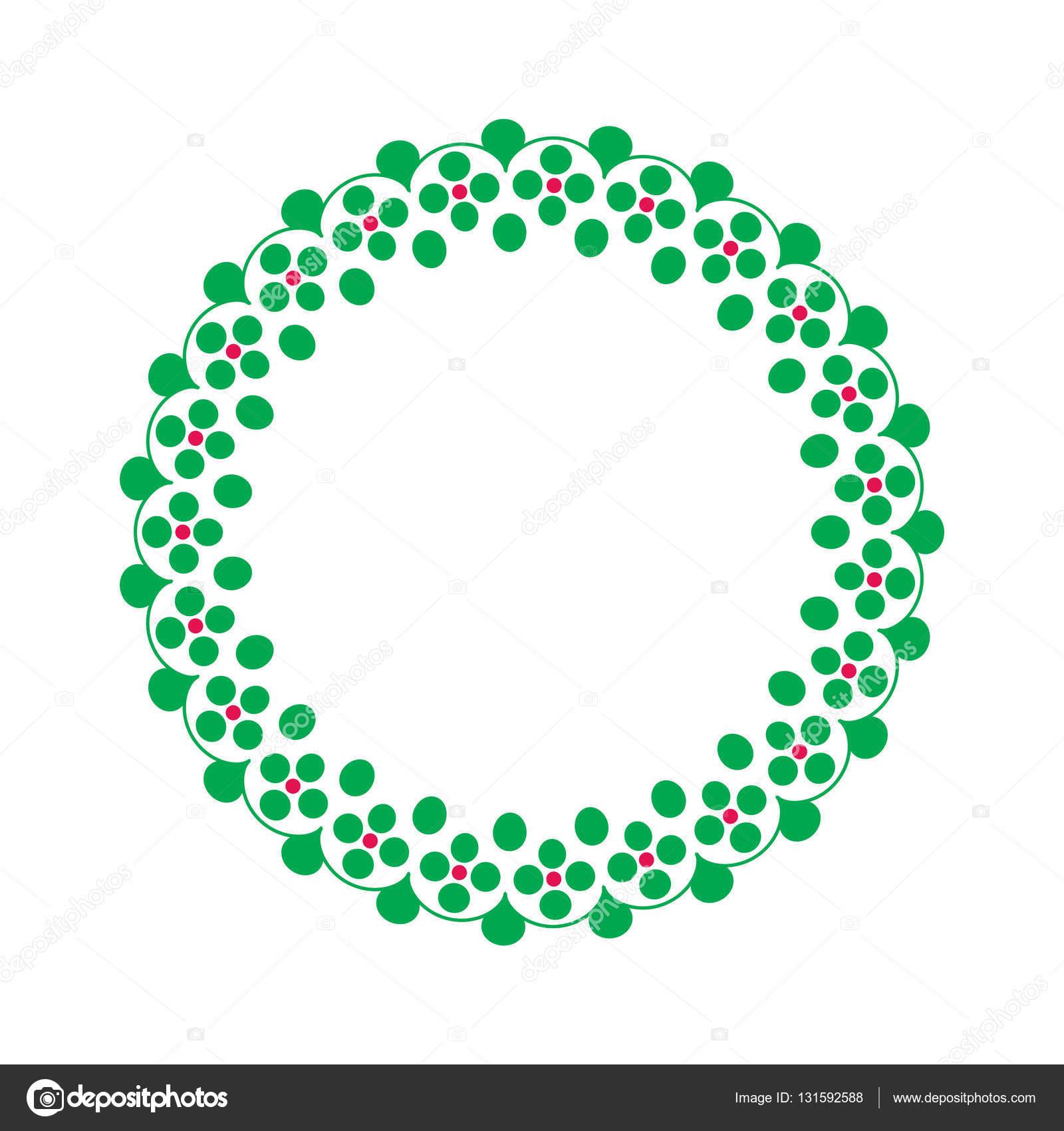 Marco adornado verde — Archivo Imágenes Vectoriales © scrapster ...