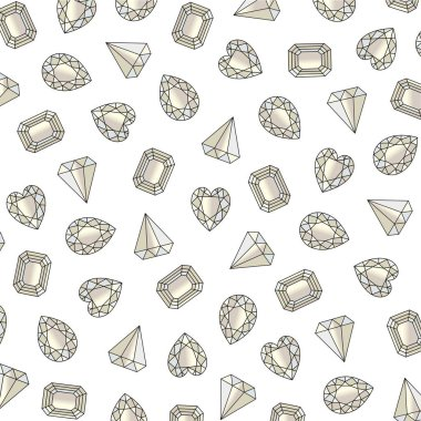 luxury gemstone pattern