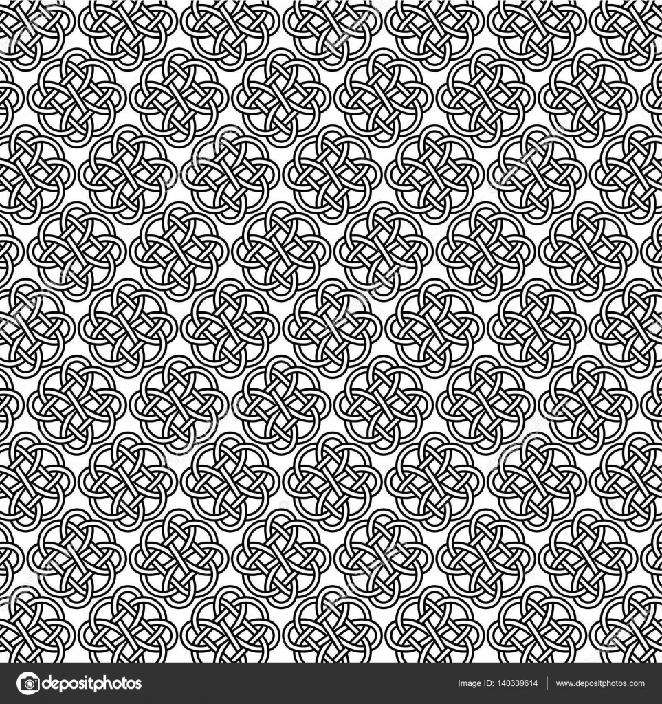Uncategorized Intricate Pattern outline intricate celtic knot pattern stock vector scrapster 140339614