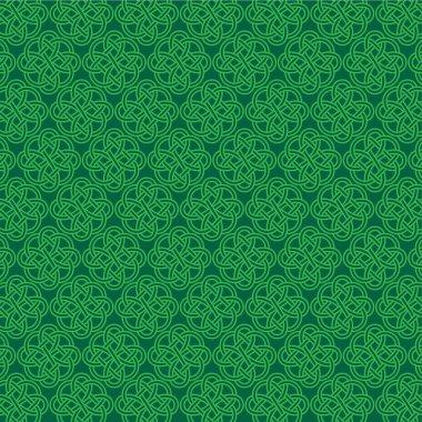 intricate celtic knot pattern