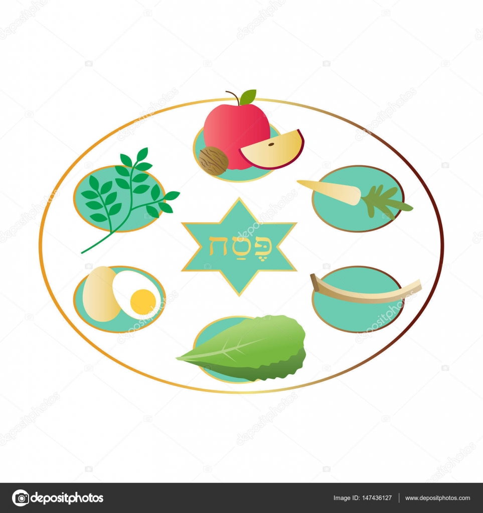 White passover plate with food stock vector scrapster 147436127 white passover plate with food stock vector 147436127 buycottarizona