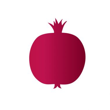 gift card with pomegranate fruit