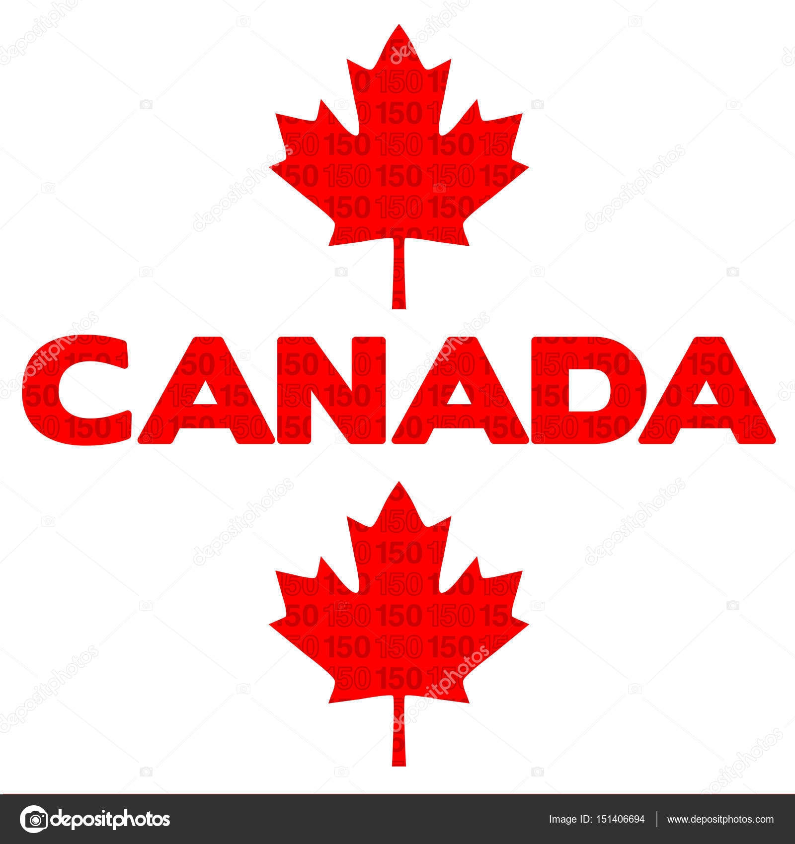 Canada sign with maple leaf — Stock Vector © scrapster ...