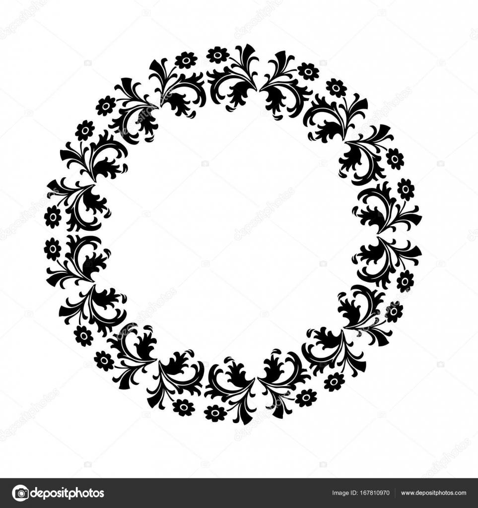 marco de halloween negro adornado — Archivo Imágenes Vectoriales ...