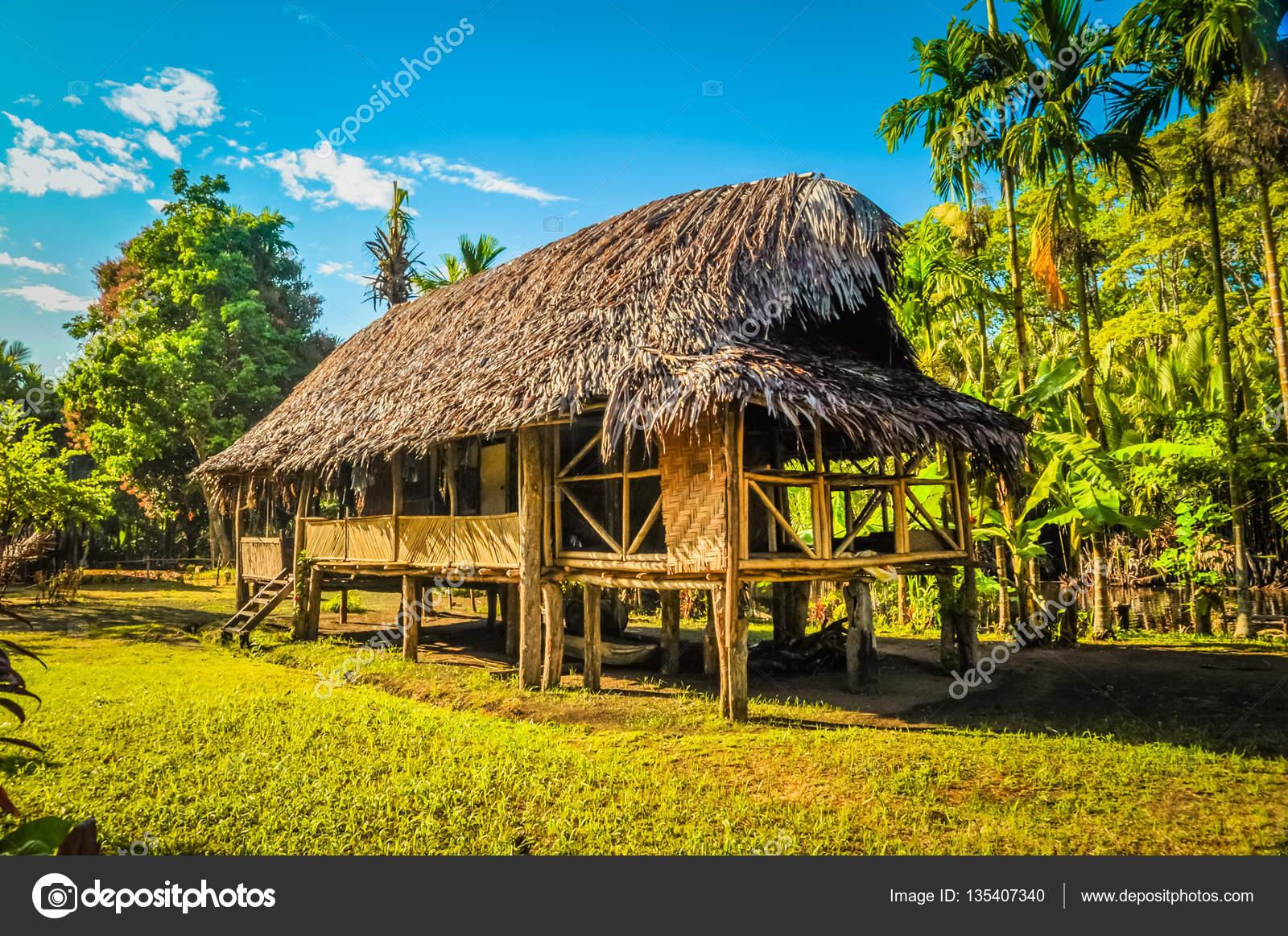 Simple House In Village Stock Photo Michalknitl 135407340