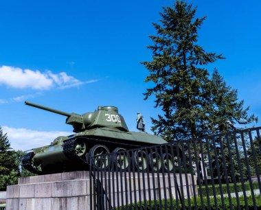 The Soviet War Memorial in the Tiergarten in Berlin Germany