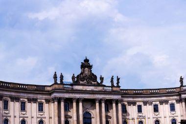 The Humboldt University was originally the Berlin University