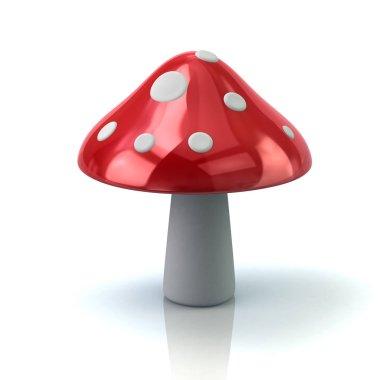Red mushroom icon