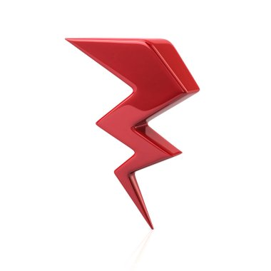 Red lightning icon
