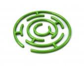Zelené kolo bludiště