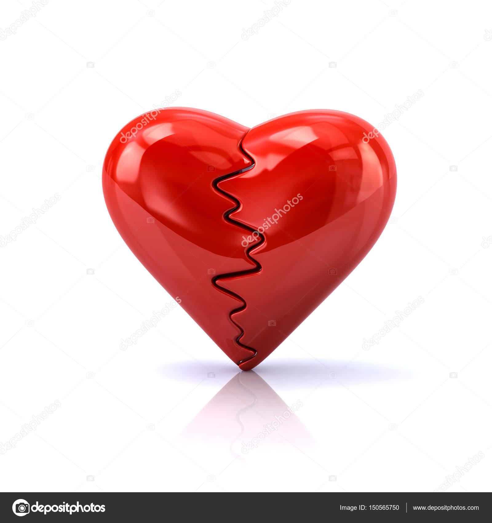 Red Heartbreak Symbol Stock Photo Valdum 150565750