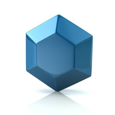 Blue diamond icon