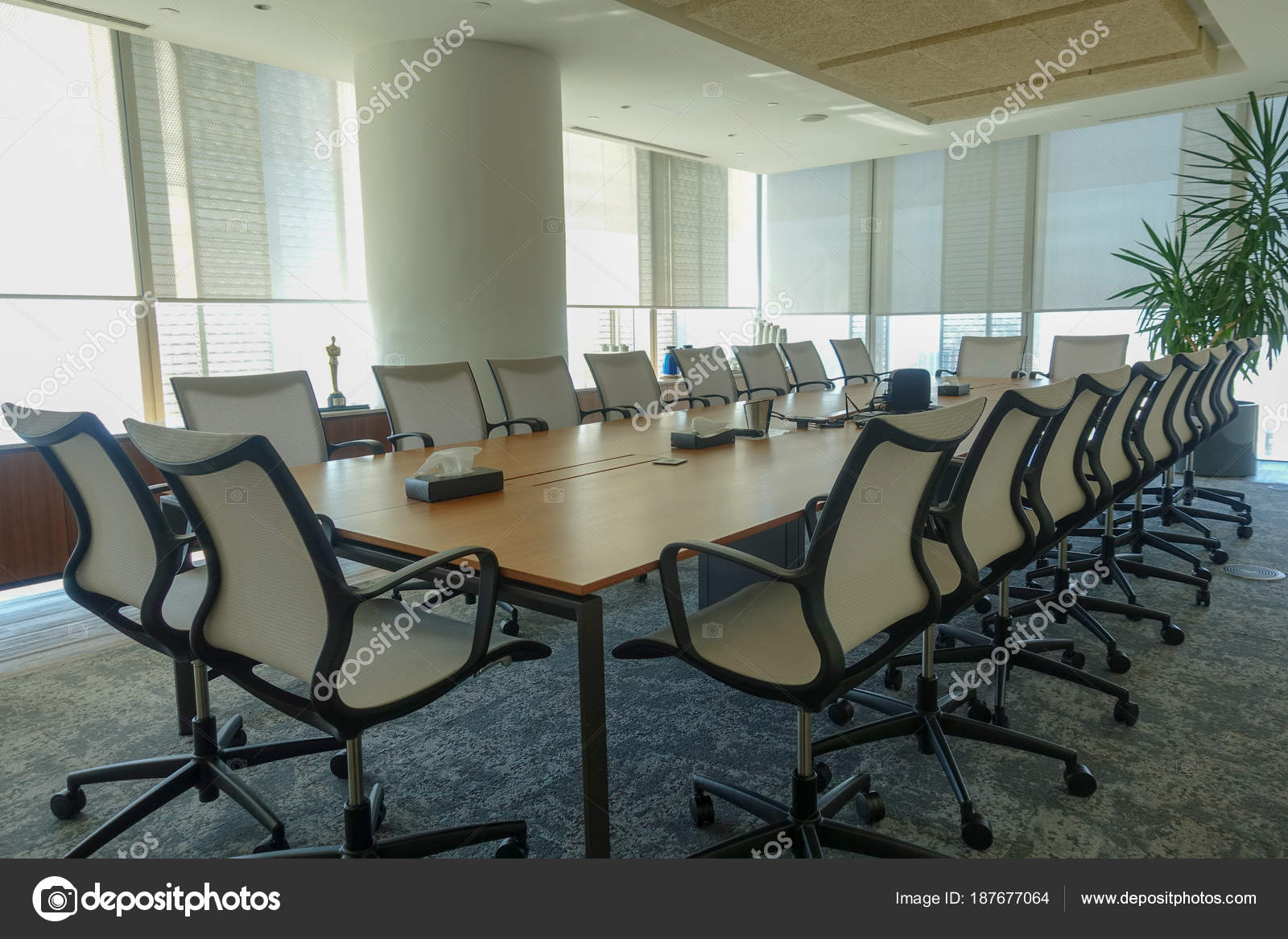 Office Decoration Office Furnitures U2014 Stock Photo