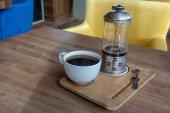 Kávé idő, a alkalom-hoz dolgozik