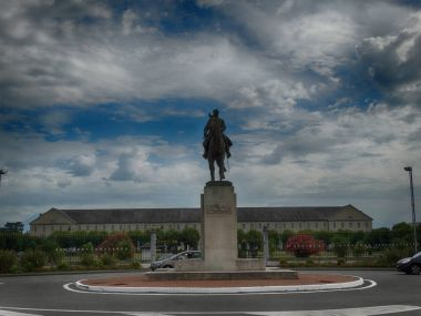 Marshal Foch Tribute Sculpture in Tarbes France