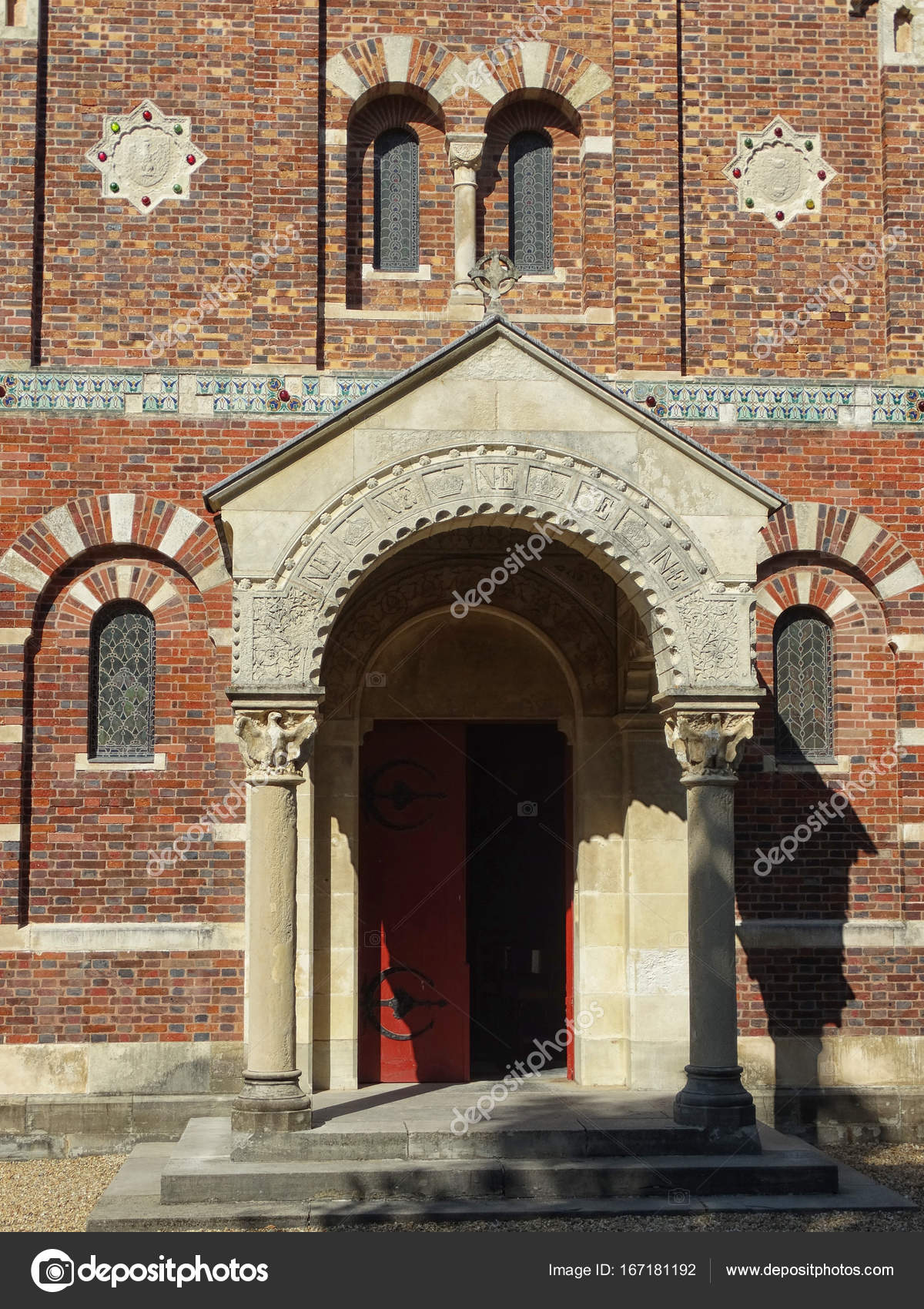 Imperial Chapel Moorish Door in Biarritz u2014 Stock Photo & Imperial Chapel Moorish Door in Biarritz u2014 Stock Photo © Fani014 ...