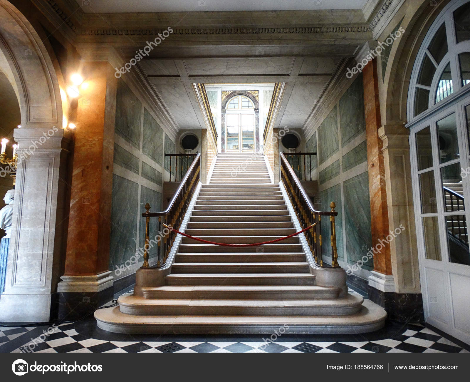 Staircase Palace Versailles Paris France March 2018 Stock Editorial Photo C Fani014 188564766