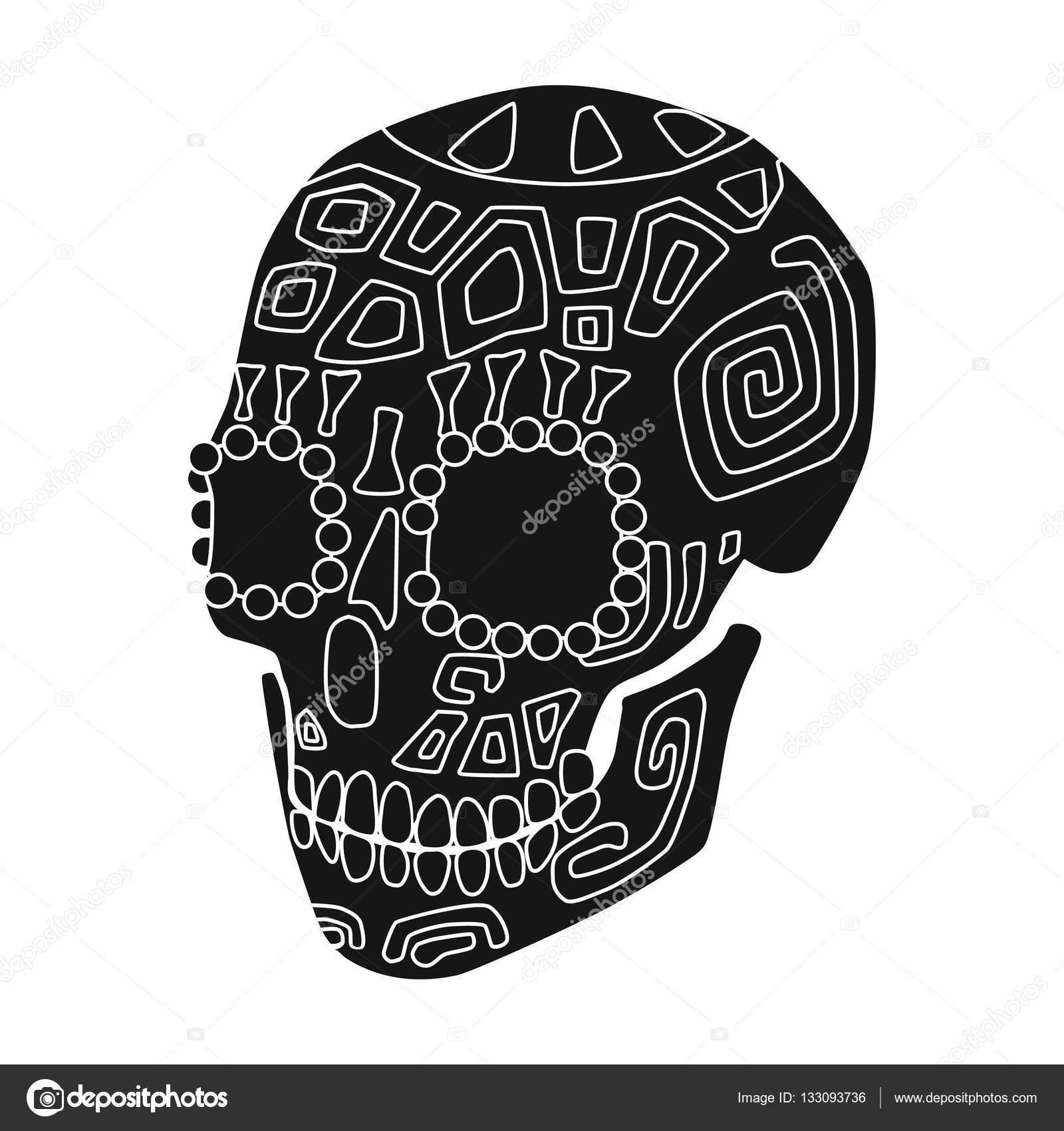 Imágenes Calaveras Mexicanas Icono De Cráneo De Calavera Mexicana