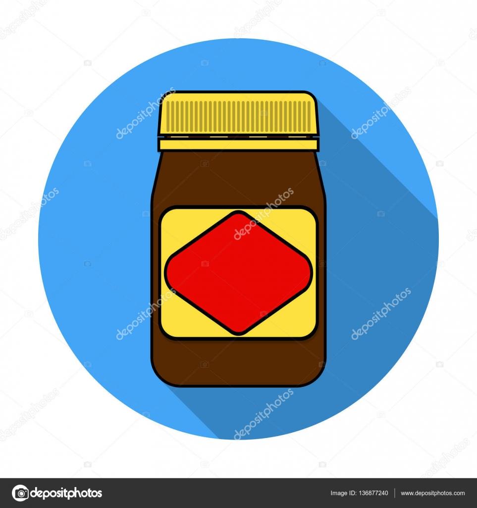 Comida australiana propagación icono en estilo plano aislado sobre ...